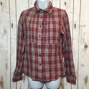 🎄 The North Face flannel shirt
